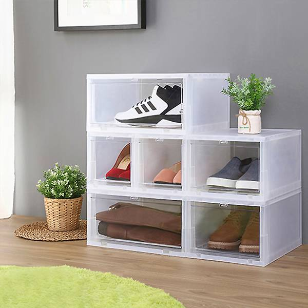 前拉式透明整理箱 PlayByPlay,玩生活,居家,收納箱,透明,收納,居家用品,鞋子,可視化,疊加,省空間