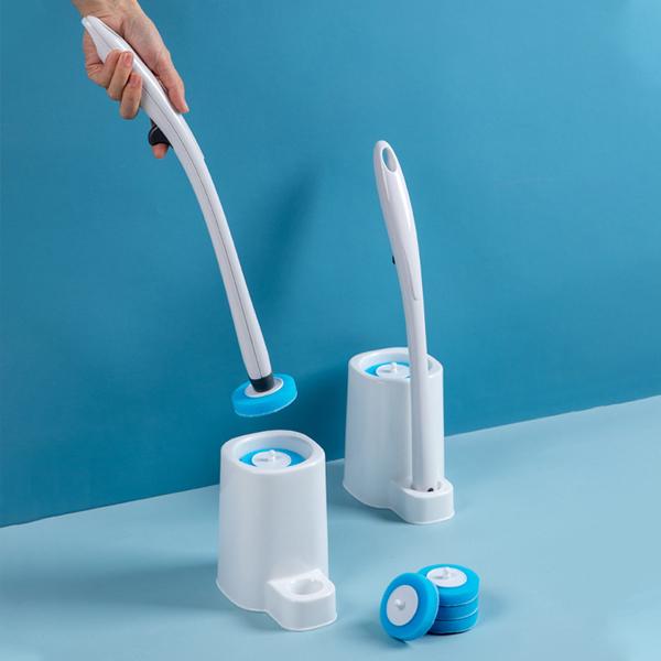 替換式馬桶刷組 PlayByPlay,玩生活,居家,浴室,浴廁,馬桶,馬桶刷,廁所刷,一次性,替換式,拋棄式,馬桶清潔,無死角,居家清潔,水溶性,浴廁刷
