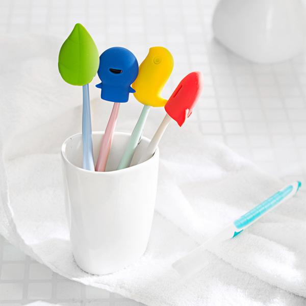 矽膠造型牙刷套 PlayByPlay,玩生活,居家,旅行,外出,浴室,牙刷,牙刷套,環保矽膠,無毒無味,卡通造型,可愛繽紛,防水防塵,精緻小巧,攜帶方便
