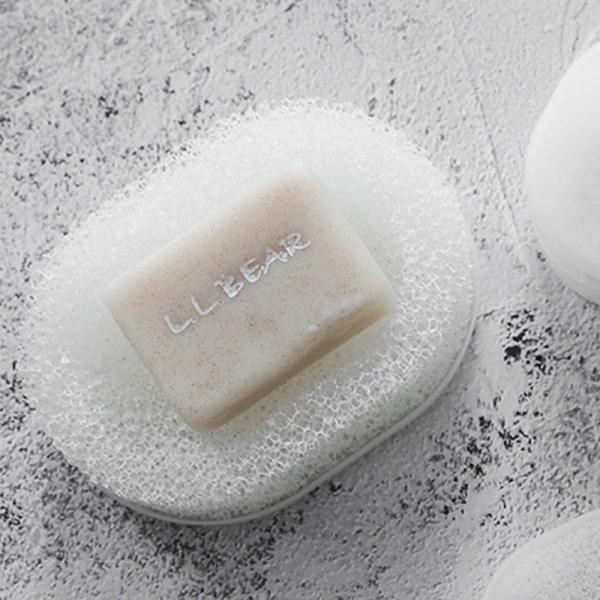海綿網肥皂碟 PlayByPlay,玩生活,浴室,海綿,肥皂,肥皂盒,瀝水,不沾黏