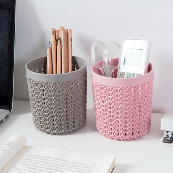 桌面編織紋筆筒 PlayByPlay,玩生活,桌面,編織,紋,筆筒,文具,收納,置物