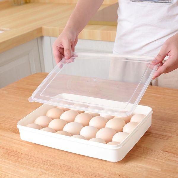 24格雞蛋收納盒 雞蛋,收納,冰箱,室溫,冷藏,主婦,廚房,大容量,收納,24格
