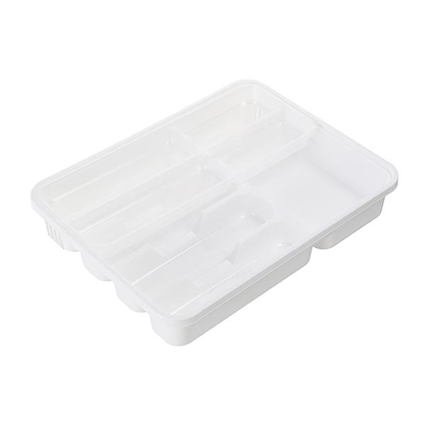 美式雙層餐具盒 PlayByPlay,玩生活,居家,廚房,餐具,刀,收納,收納盒,PP,多格,雙層,可拆卸,組合,衛生,抽屜,櫥櫃,檯面