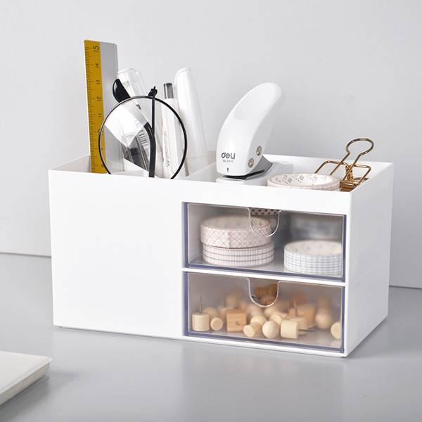 多功能桌面收納盒 PlayByPlay,玩生活,居家,辦公室,桌面,檯面,梳妝台,書桌,收納盒,置物盒,儲物盒,抽屜,筆筒,文具收納,化妝品收納,飾品收納