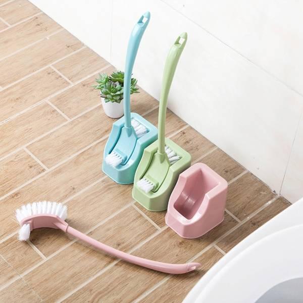 繽紛雙面馬桶刷 PlayByPlay,玩生活,居家,浴室,廁所,馬桶刷,多色,雙面,長柄,省力,舒適,底座,瀝水,吊掛