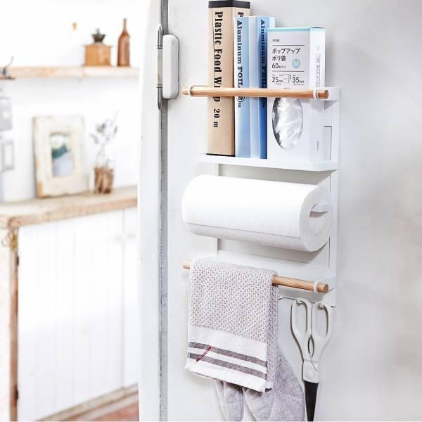 冰箱磁鐵置物架 PlayByPlay,玩生活,廚房,調味料,冰箱,磁鐵,磁吸設計,吊掛,抹布