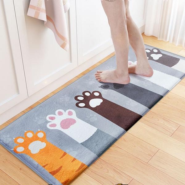 肉球貓掌長地墊 PlayByPlay,玩生活,柔軟,客廳,臥室,門口,貓掌,肉球,萌,地毯