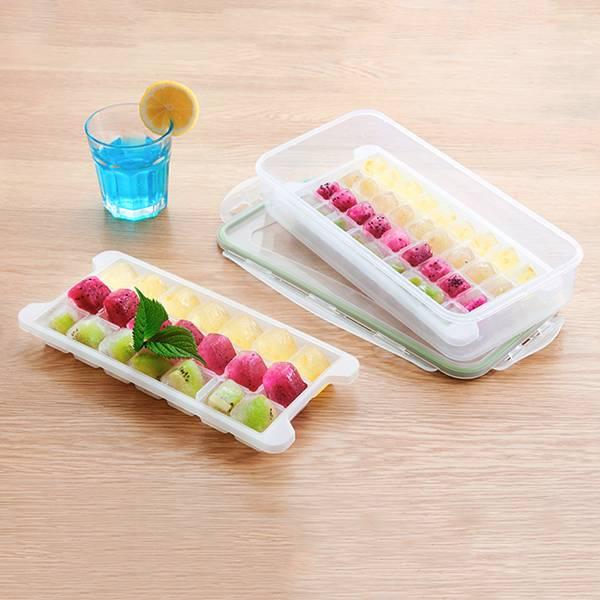 創意多層冰塊模具 72格 PlayByPlay,玩生活,居家,炎熱,冰塊盒,自製,不同口味,沁涼,不相黏,彈性,取冰輕鬆,收納盒,獨立使用,裝飲料蔬果,可疊加收納,省空間