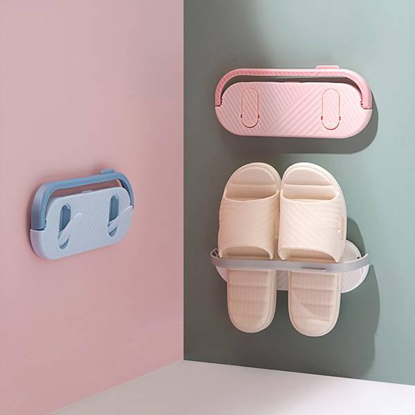 多功能折疊拖鞋架 PlayByPlay,玩生活,居家,北歐風,繽紛,客廳,廚房,浴室,臥室,玄關,拖鞋架,收納架,置物架,折疊,省空間,隨身物品,鑰匙,洗漱用品,清潔用品,鍋蓋
