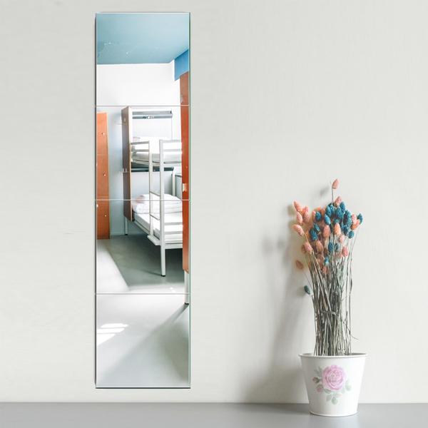 DIY無框組合鏡 大號 PlayByPlay,玩生活,居家,廚房,臥室,客廳,餐廳,浴室,玄關,玻璃,鏡,壁貼,家飾,DIY,鏡子貼,黏貼鏡,鏡面貼,組合鏡,無框鏡