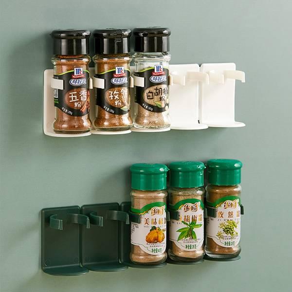 五連調味罐收納架 PlayByPlay,玩生活,居家,廚房,烹飪,料理,調味,提味,收納架,壁掛架,置物架,儲物架,調味瓶,調味罐,壁掛式,省空間