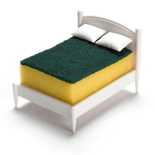 做個好夢海綿架 PlayByPlay,玩生活,廚房,創意,造型,雙人床,設計,洗碗,海綿,收納