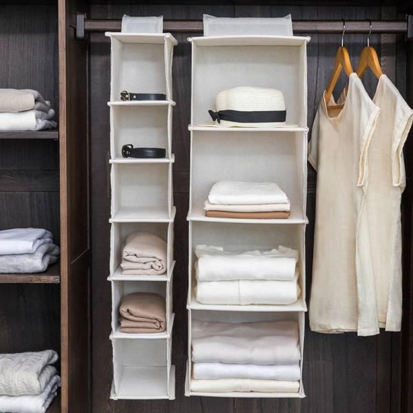 衣櫃多層收納袋-4層(大號) 衣櫃,多層,收納袋,衣櫥,包包,空間,帆布