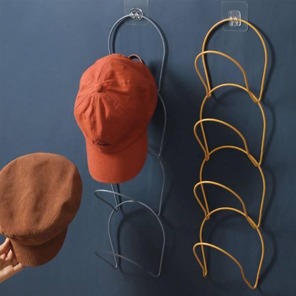 環環相扣衣帽架 PlayByPlay,玩生活,居家,臥室,客廳,收納架,置物架,衣架,衣帽架,掛架,門後,衣櫃,牆面收納,帽子收納,配件收納,省空間,組合式,耐重,鐵藝,摩登風