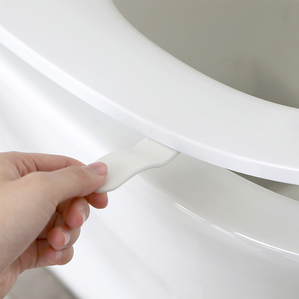 弧形提手掀蓋器 PlayByPlay,玩生活,居家,浴室,廁所,馬桶,馬桶蓋,提蓋器,3M膠,乾淨,衛生,方便,把手,提手