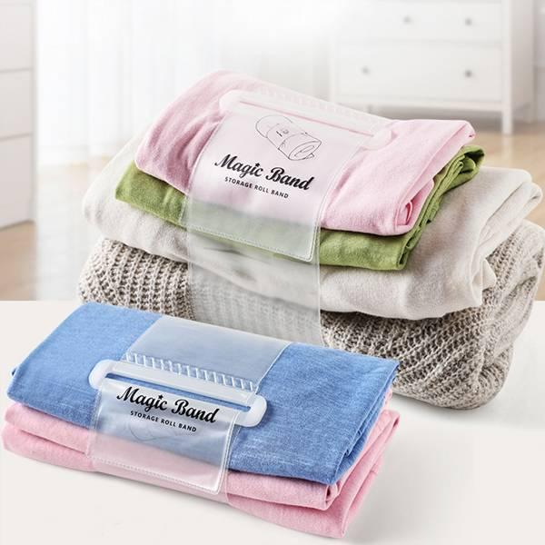衣物整理收納帶 PlayByPlay,玩生活,居家,臥室,衣櫃,抽屜,外出,旅遊,行李,衣物收納,棉被,毛巾,浴巾,綑紮帶,鬆緊帶,束帶,捆帶,綁帶