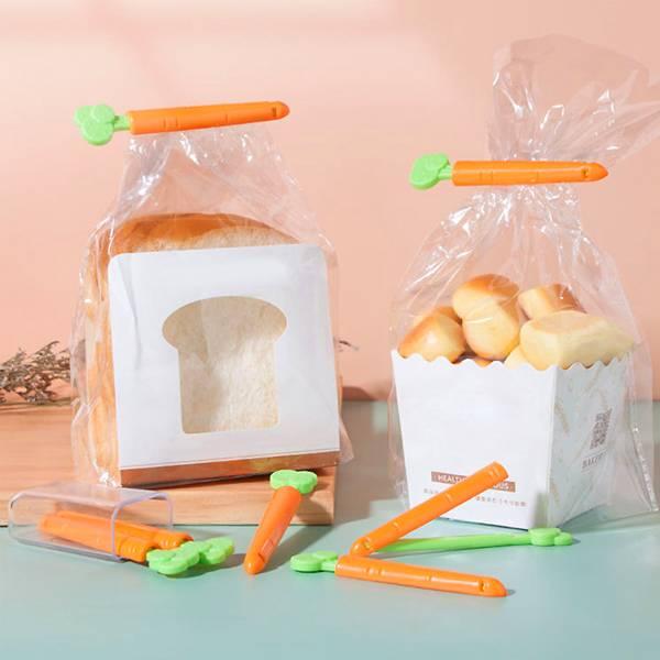 胡蘿蔔食品封口夾 PlayByPlay,玩生活,居家,廚房,冰箱,食物,食品,零食,封口夾,密封夾,胡蘿蔔,卡通,保鮮,防潮,防蟲,防塵,收納,儲物