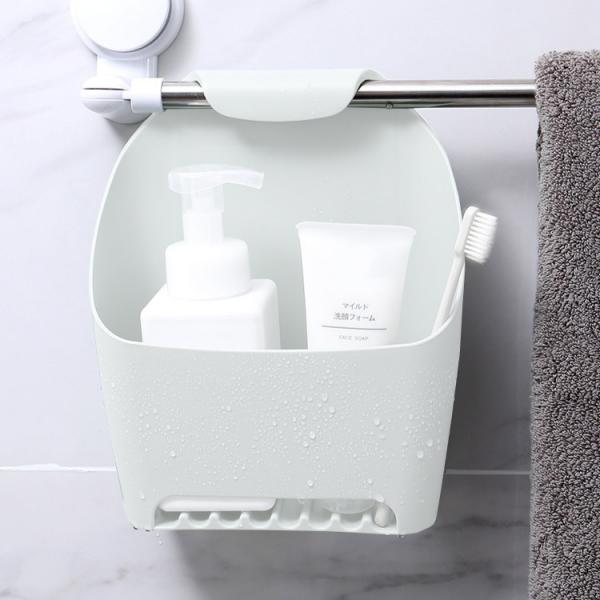 吊掛浴室收納盒 PlayByPlay,玩生活,懸掛,瀝水,浴室,收納,疊加