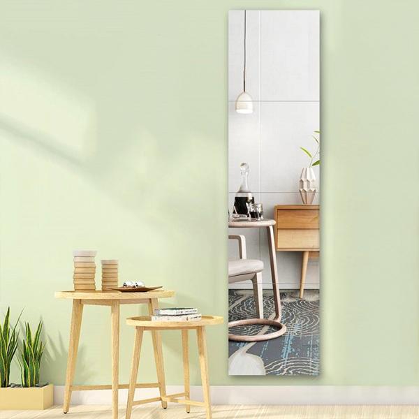 DIY無框組合鏡 小號 PlayByPlay,玩生活,居家,廚房,臥室,客廳,餐廳,浴室,玄關,玻璃,鏡,壁貼,家飾,DIY,鏡子貼,黏貼鏡,鏡面貼,組合鏡,無框鏡