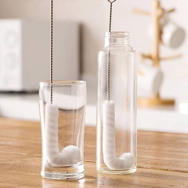 可彎曲奶瓶杯刷組 PlayByPlay,玩生活,奈米纖維,直角刷頭,奶瓶,杯子,杯底,杯緣,清潔