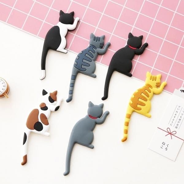 貓尾冰箱磁吸掛鉤 PlayByPlay,玩生活,可愛,貓尾,掛鉤,冰箱貼,掛鉤