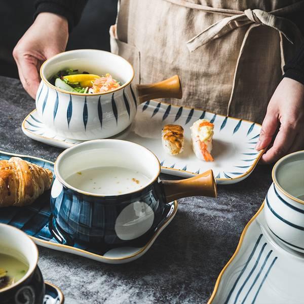 日式釉下彩碗盤組 PlayByPlay,玩生活,居家,廚房,餐廳,餐桌,餐具,餐盤,碗,盤,食器,日式,和風,釉彩,陶瓷,餐具組,餐盤組,窯燒,可微波