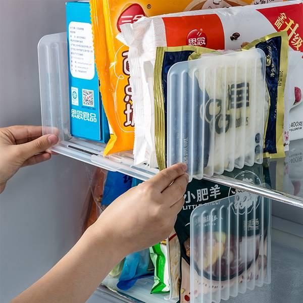可伸縮冰箱隔板架 PlayByPlay,玩生活,居家,廚房,餐廚,烹飪,冰箱,冷藏,冷凍,收納,保鮮,隔板,收納架,置物架,可拆式
