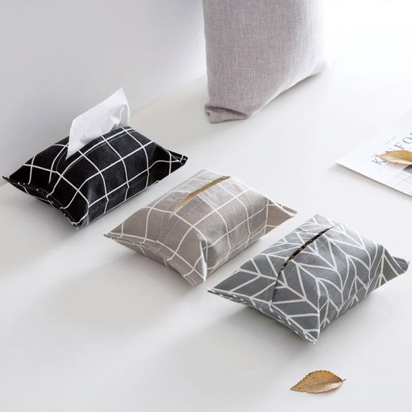 棉麻紙巾套 PlayByPlay,玩生活,棉麻,紙巾,套,衛生紙,布藝,簡約,裝飾