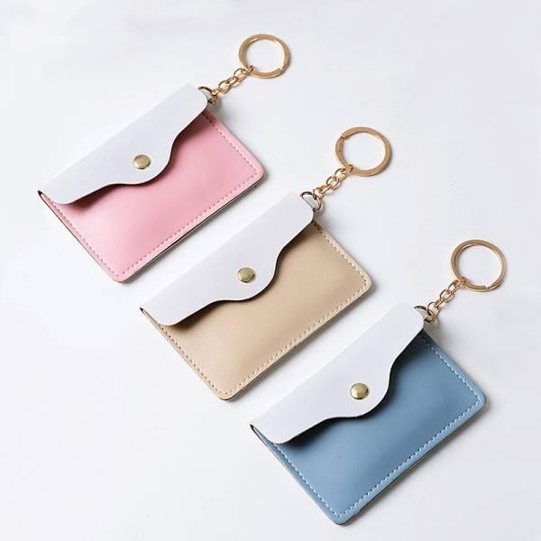 極簡卡夾鑰匙圈 PlayByPlay,玩生活,PU材質,悠遊卡夾,零錢包,鑰匙圈,鑰匙扣