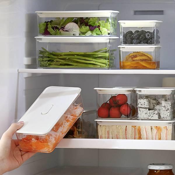 冷藏保鮮盒(1000ml) PlayByPlay,玩生活,冷藏,保鮮,盒,玻璃,密封,保鮮,矽膠