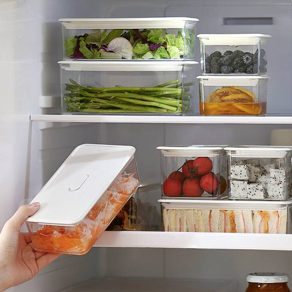 冷藏保鮮盒(500ml) PlayByPlay,玩生活,冷藏,保鮮,盒,玻璃,密封,保鮮,矽膠