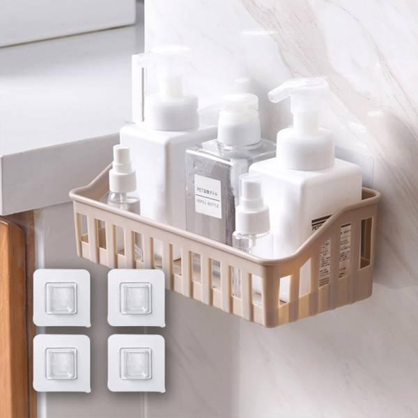 浴室免釘置物籃 補充貼片 PlayByPlay,玩生活,無痕貼,黏貼,不鑽孔,浴室,貼歪