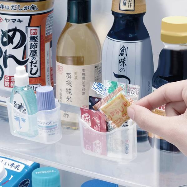 冰箱小物收納盒 PlayByPlay,玩生活,居家,廚房,掛勾,收納,雜物,醬包,輕盈小巧,自由移動,省空間,整齊,乾淨