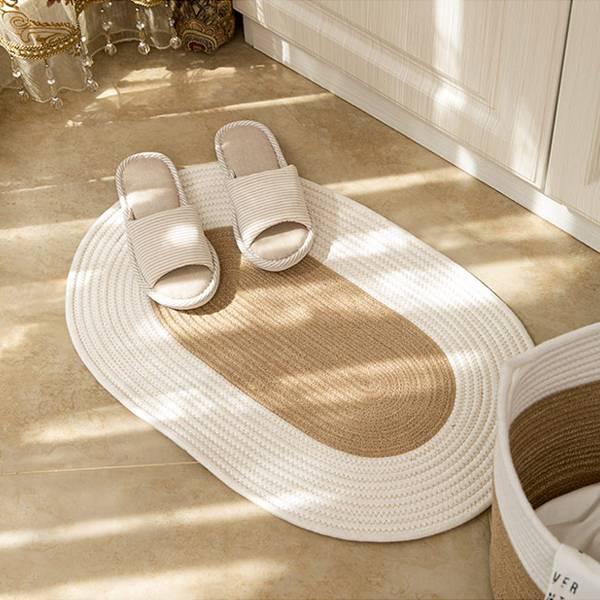 日式棉麻編織地毯 PlayByPlay,玩生活,居家,臥室,玄關,日式,棉麻,黃麻,地毯,地墊,腳墊,踏墊,玄關墊,家飾,編織,防潮,防蟲,吸濕,透氣