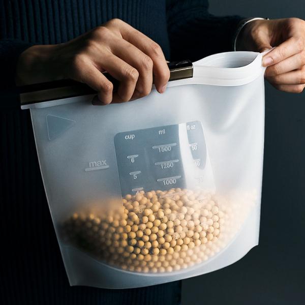 矽膠食物密封袋 PlayByPlay,玩生活,透明,可視,宵夜,環保,外出,外食,環保袋,蜜蜂,矽膠,可加熱