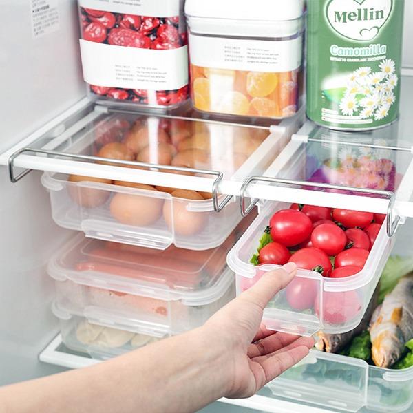 冰箱抽屜保鮮盒 大號 PlayByPlay,玩生活,居家,冰箱,保鮮盒,層板,收納,蔬果,食品,抽屜式設計,推拉順暢,底部拉手,輕鬆捏取