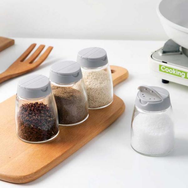 廚房調味料罐(2入) PlayByPlay,玩生活,雙開口,大小孔設計,調味料,鹽,糖,胡椒粉,花椒