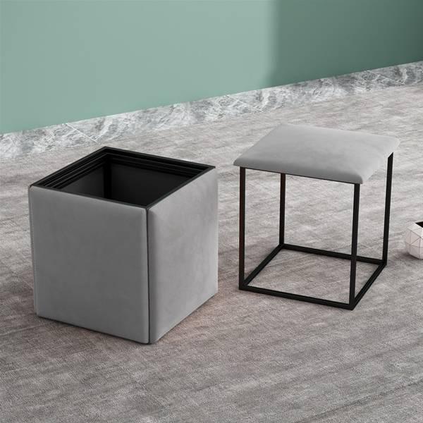 五合一魔方凳 PlayByPlay,玩生活,居家,北歐,客廳,臥室,玄關,椅子,凳子,魔方凳,組合凳,組合椅,換鞋凳,五合一,多功能,皮革,簡約,可移動