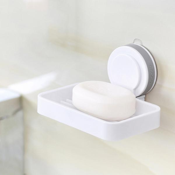 吸盤肥皂瀝水盒 PlayByPlay,玩生活,浴室,肥皂,淋浴,瀝水,吸盤,自黏,免釘,免鑽