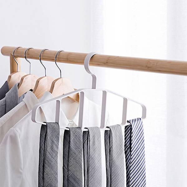 小號圍巾皮帶掛架 PlayByPlay,玩生活,臥室,衣櫥,衣架,掛架,多孔,ABS,一體成型,耐用,耐重,省空間,圍巾,皮帶,領帶,收納