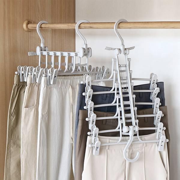 多功能萬用衣褲架 PlayByPlay,玩生活,居家,衣架,衣櫥,衣櫃,陽台,掛衣,晾曬,門後,省空間,收納