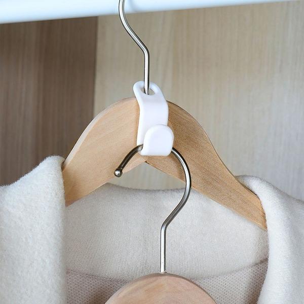 衣架連結掛鉤(6入) PlayByPlay,玩生活,居家,衣櫃,衣櫥,衣架,掛勾,掛衣,多件,皮帶,圍巾,省空間,便捷,包包