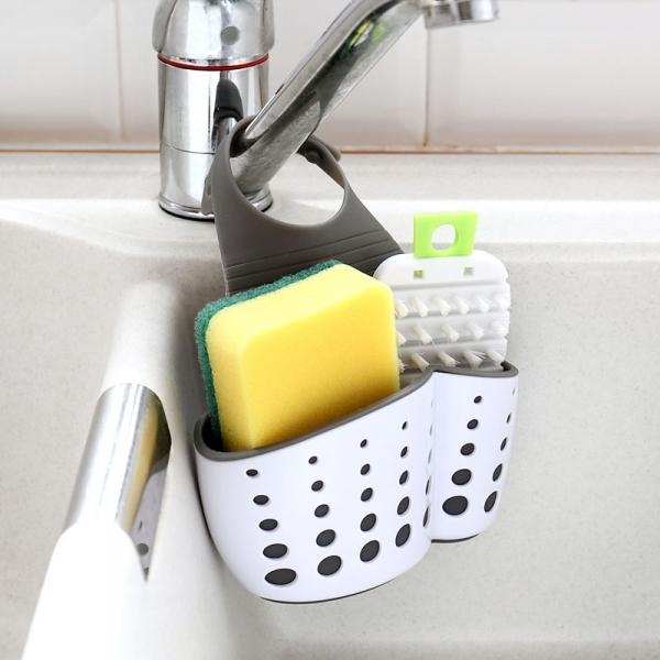 廚房水槽瀝水袋 PlayByPlay,玩生活,水槽,瀝水,袋,廚房,菜瓜布,瀝水籃