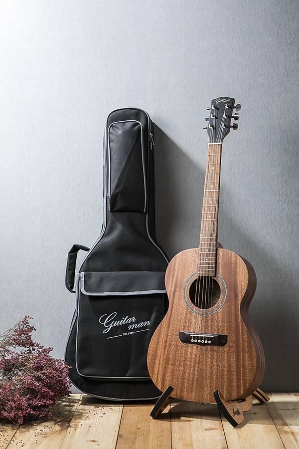 台灣原創 guitarman T-11B 36吋 全桃花心合板 手工旅行吉他 烏克麗麗,學吉他,買吉他,手工製,吉他,旅行吉他,吉他袋,吉他教學,吉他入門,吉他推薦