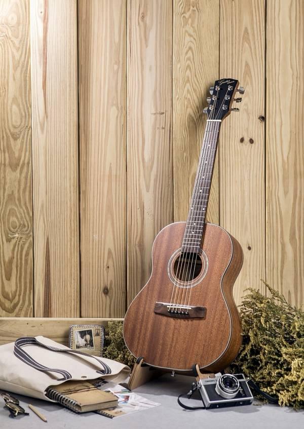 台灣原創 guitarman B-31B 34吋 全桃花心木面單 手工旅行吉他 烏克麗麗,學吉他,買吉他,手工製,吉他,旅行吉他,吉他袋,吉他教學,吉他入門,吉他推薦