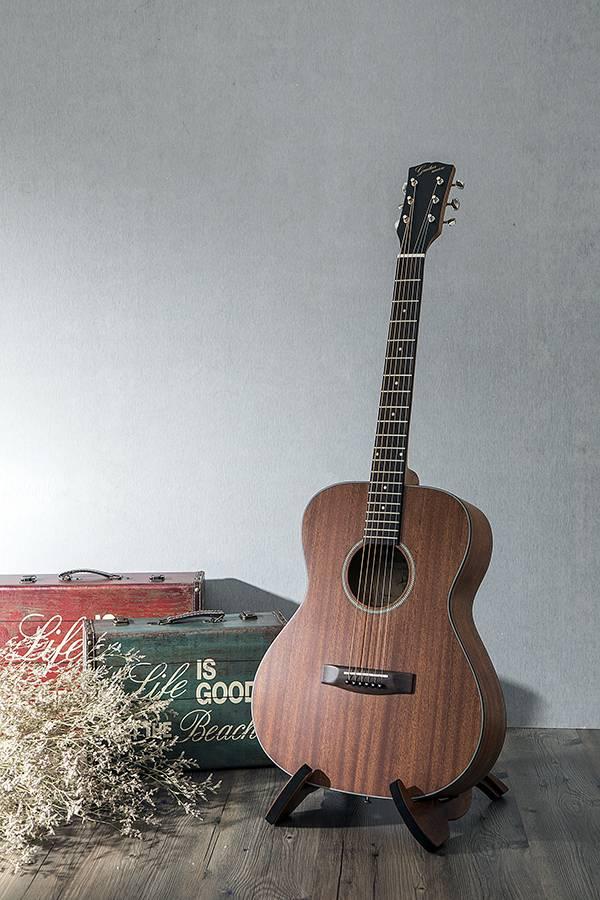 台灣原創 guitarman M-31B 40吋 桃花心木面單 手工40吋OM桶身吉他 烏克麗麗,學吉他,買吉他,手工製,吉他,旅行吉他,吉他袋,吉他教學,吉他入門