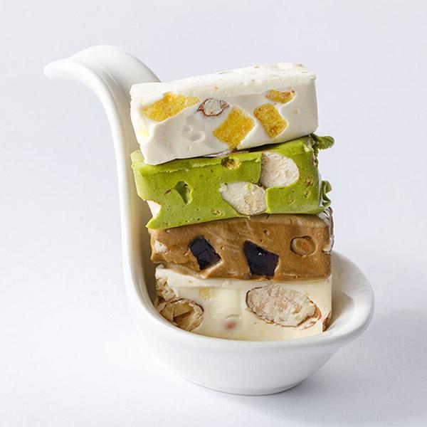 寶島精選禮盒(原味、珍珠奶茶、包種茶、黃金寶石)400g 櫻桃爺爺,牛軋糖,手工,無添加