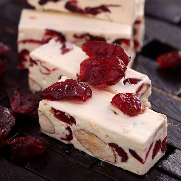 紅寶石蔓越莓牛軋糖禮盒 櫻桃爺爺,牛軋糖,手工,伴手禮