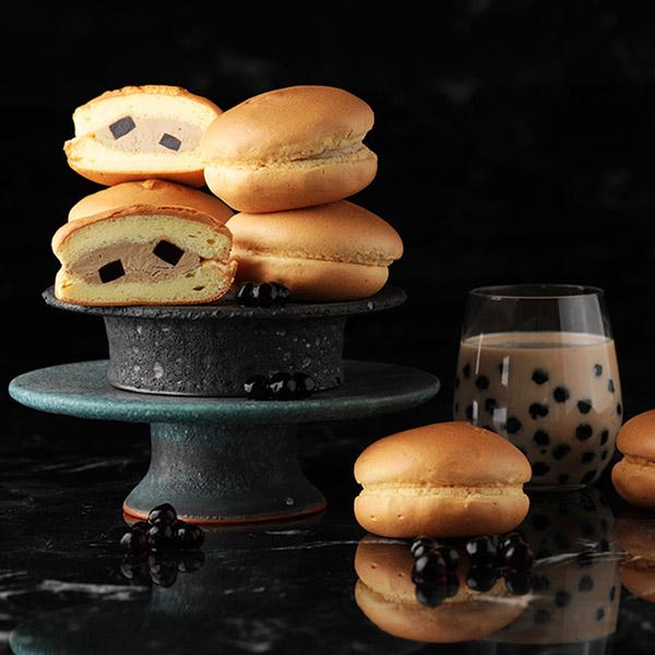 香榭舒芙蕾-珍珠奶茶 (8入禮盒) 櫻桃爺爺,珍珠奶茶,冰品,甜點,舒芙蕾