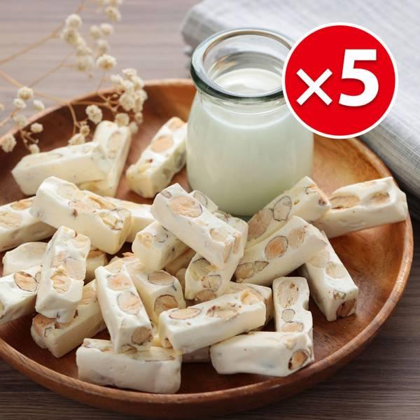 優格牛軋糖(100g)X5包組 櫻桃爺爺,牛軋糖,情人節,交換禮物,優格